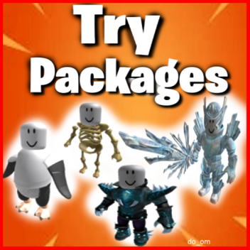 Try Roblox Packages/Bundles